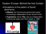 eastern europe behind the iron curtain1