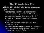 the khrushchev era1