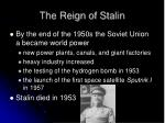 the reign of stalin1