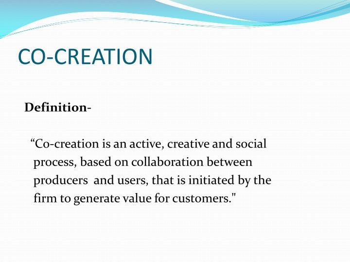 Co creation1