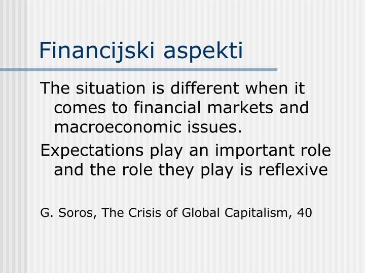 Financijski aspekti