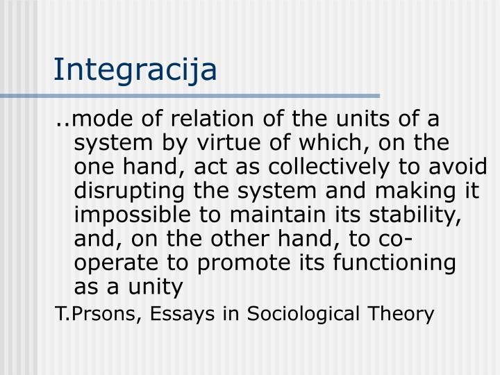 Integracija