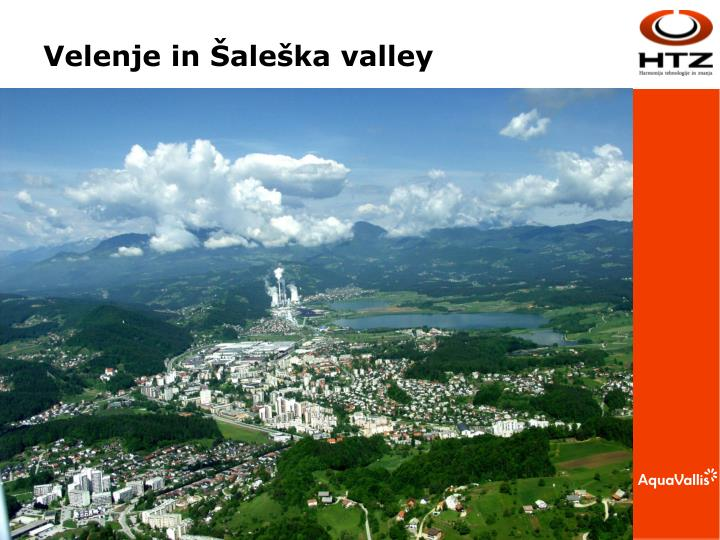 Velenje in Šaleška valley