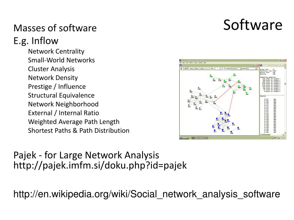 PPT - Science: Graph theory and networks PowerPoint