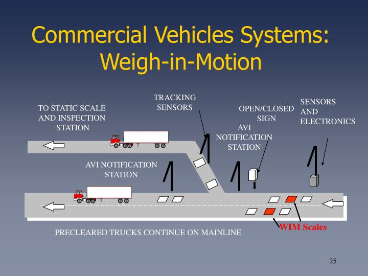 Commercial Vehicles Systems: Weigh-in-Motion