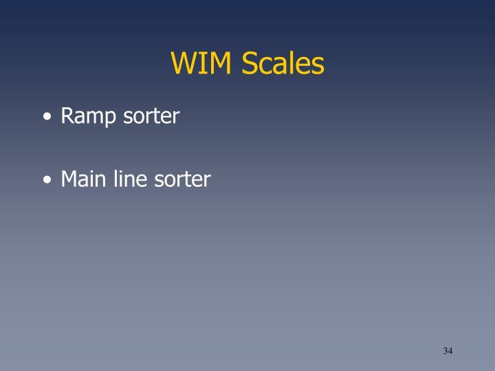 WIM Scales