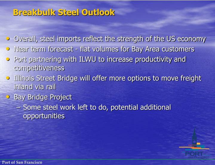 Breakbulk Steel Outlook