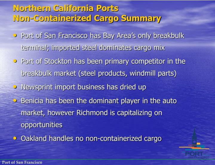 Northern California Ports