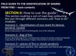 field guide to the identification of sharks from fins main contents1