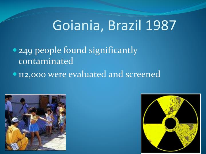 Goiania, Brazil 1987