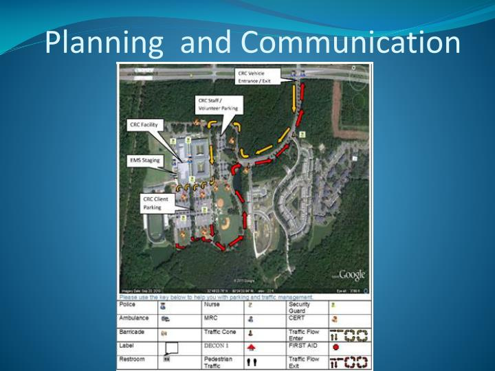 Planning  and Communication