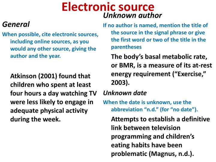 Electronic source