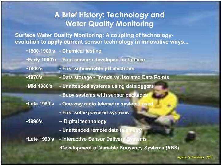 A Brief History: Technology and