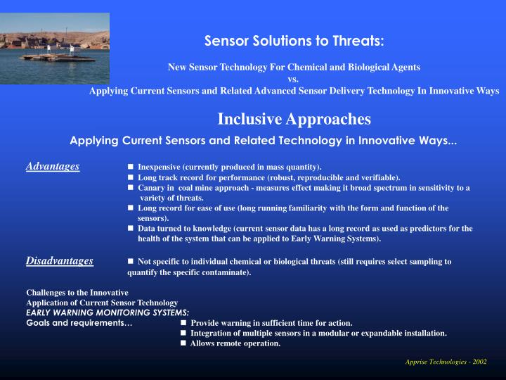 Sensor Solutions to Threats: