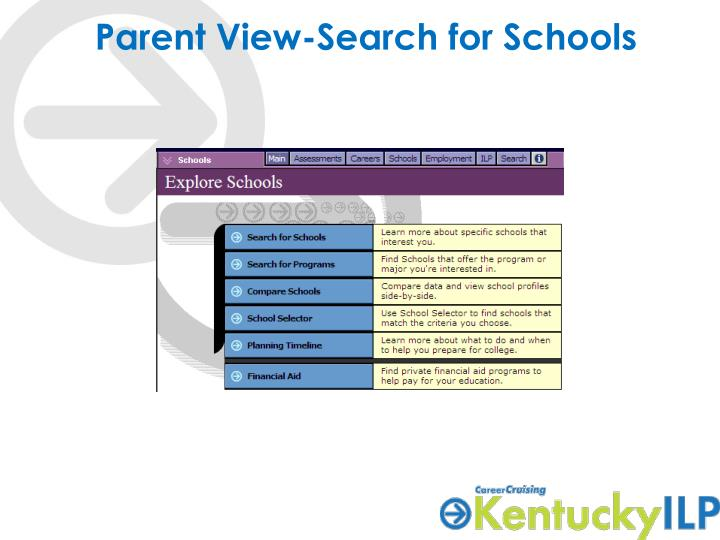 Parent View-Search for Schools