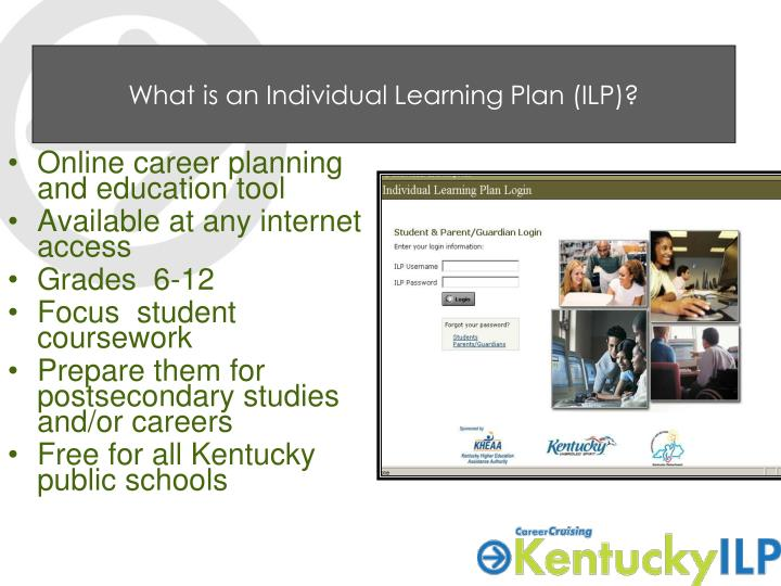 What is an Individual Learning Plan (ILP)?