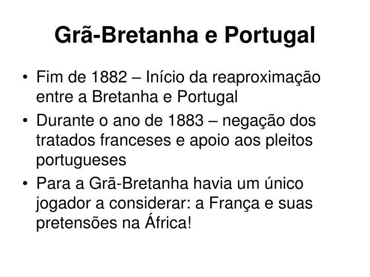Grã-Bretanha e Portugal