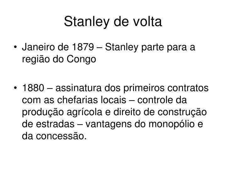 Stanley de volta