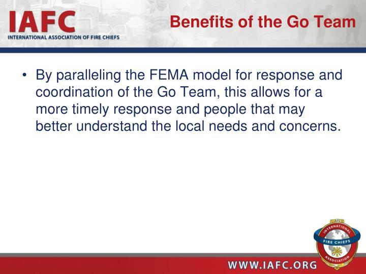 Benefits of the Go Team