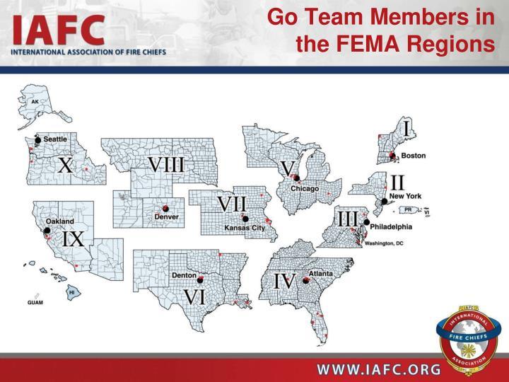 Go Team Members in