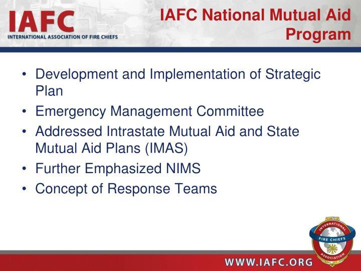 IAFC National Mutual Aid