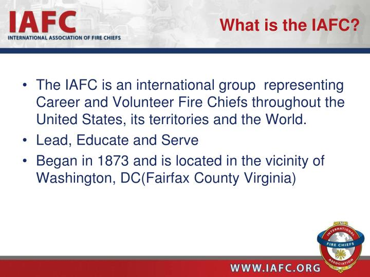 What is the iafc1