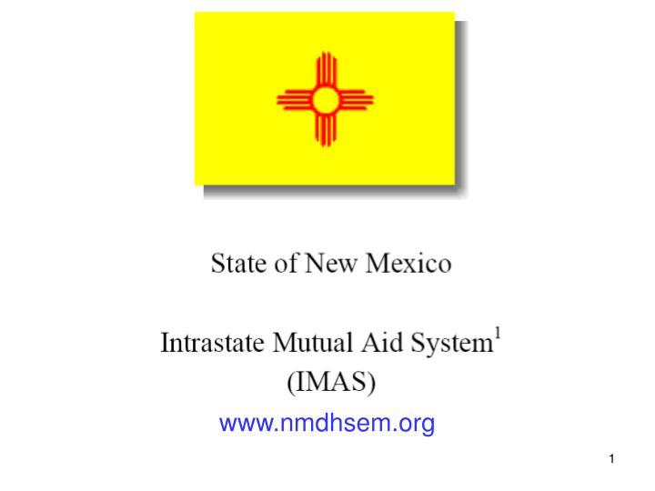 www nmdhsem org