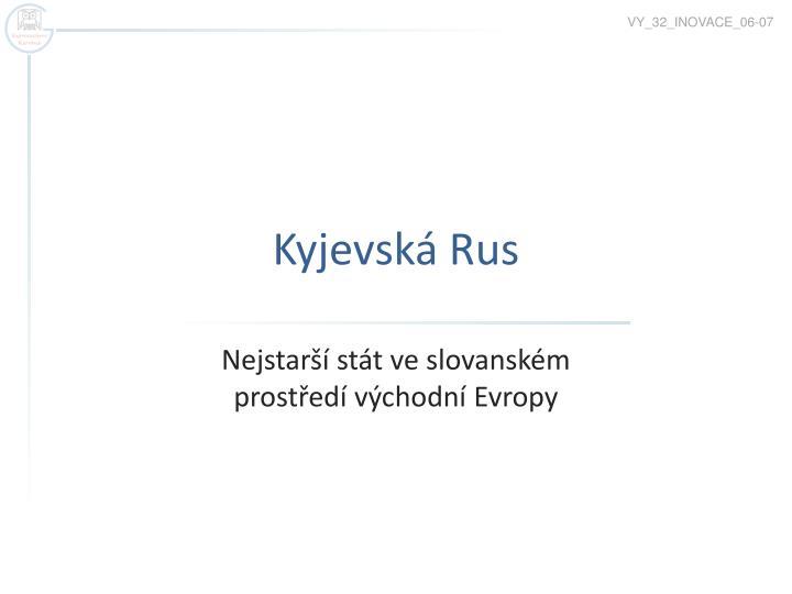 kyjevsk rus