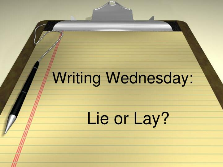 writing wednesday n.