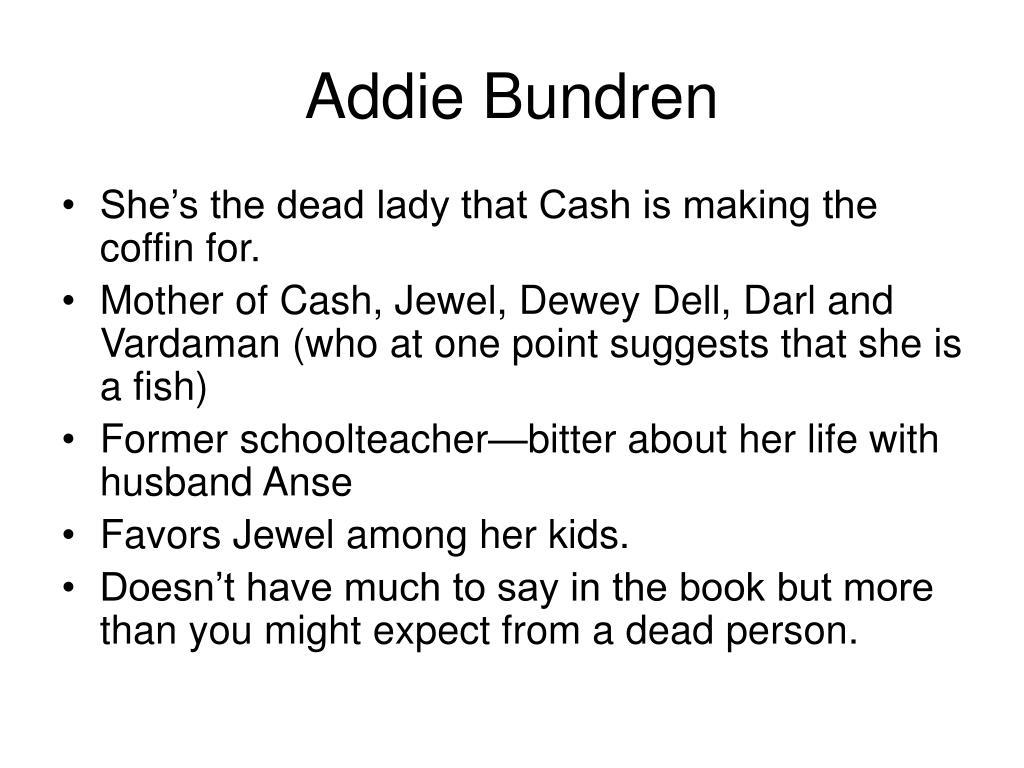 Addie Bundren As I Lay Dying