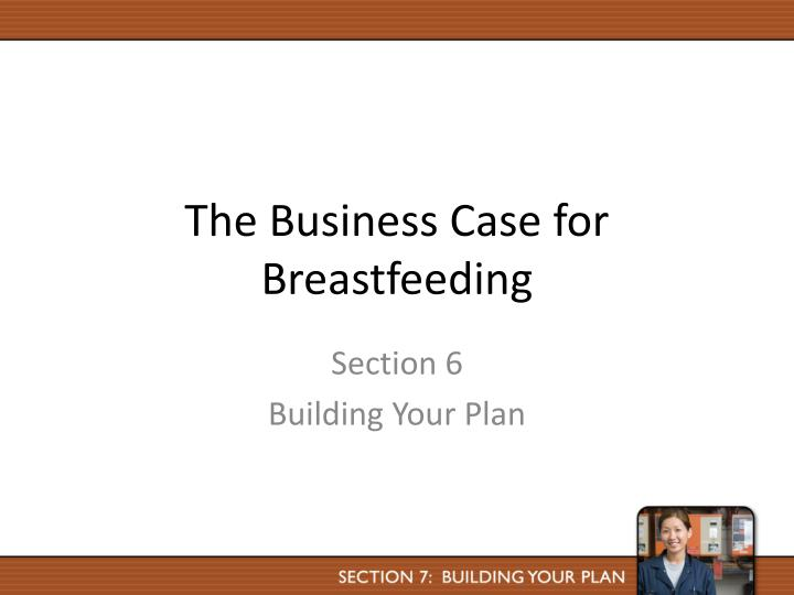 the business case for breastfeeding n.