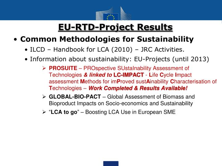 EU-RTD-Project