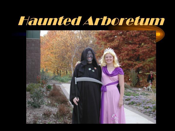 Haunted Arboretum