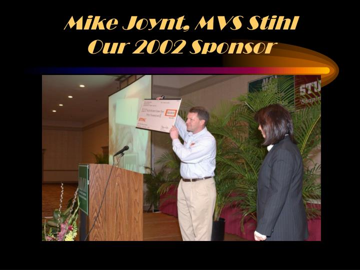 Mike Joynt, MVS Stihl