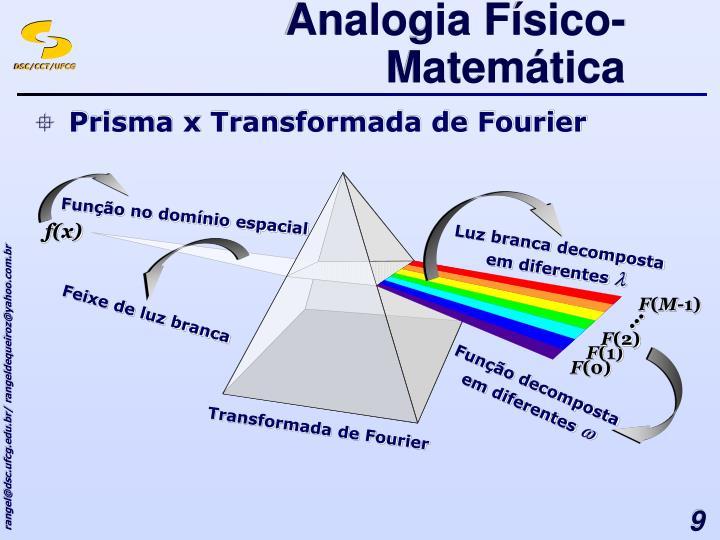 Analogia Físico-Matemática