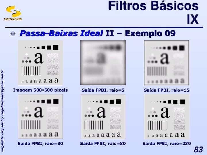 Filtros Básicos IX