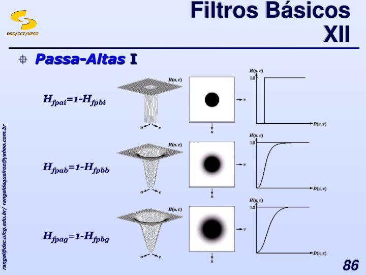 Filtros Básicos XII