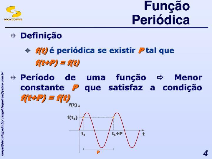 Função Periódica