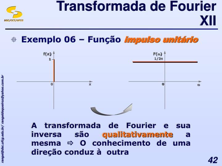 Transformada de Fourier XII