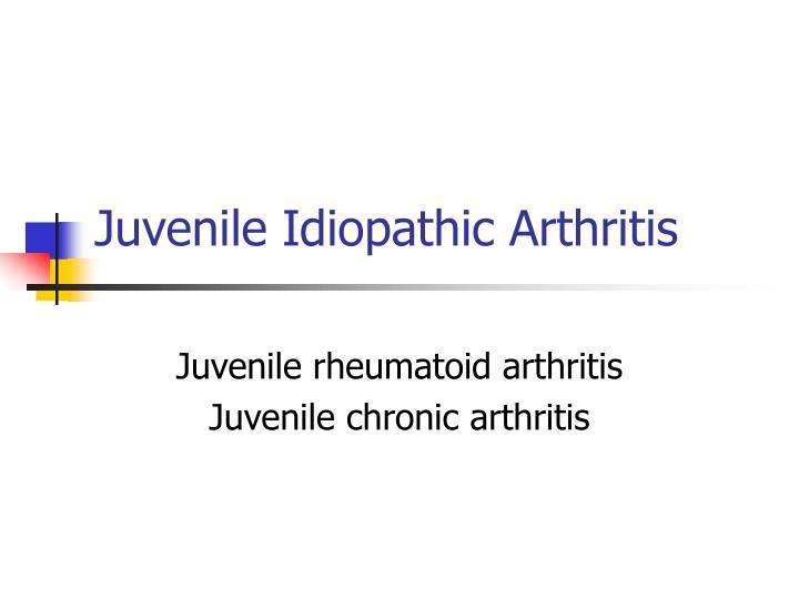juvenile idiopathic arthritis and rheumtiod arthritis essay The european classification uses the term 'juvenile chronic arthritis' (jca), which includes polyarticular arthritis, pauciarticular arthritis, systemic arthritis, juvenile ankylosing spondylitis, psoriatic arthritis and arthritis associated with inflammatory bowel disease.