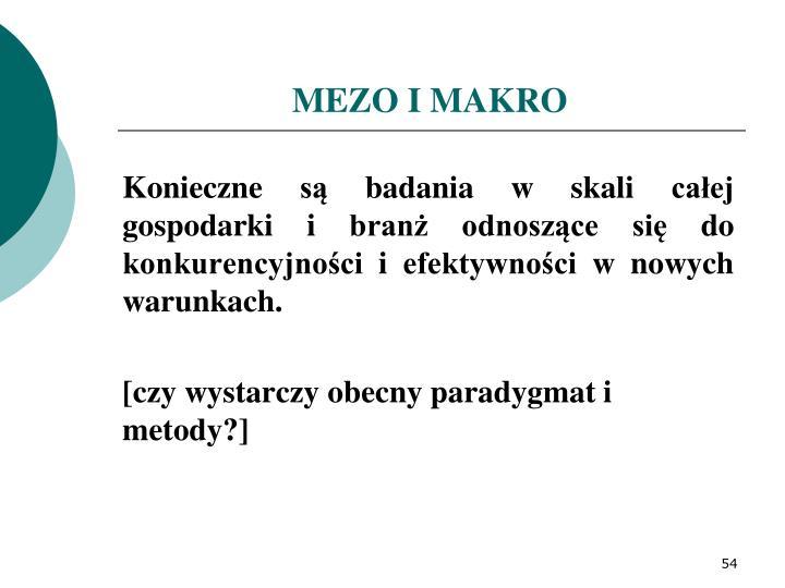 MEZO I MAKRO