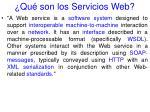 qu son los servicios web