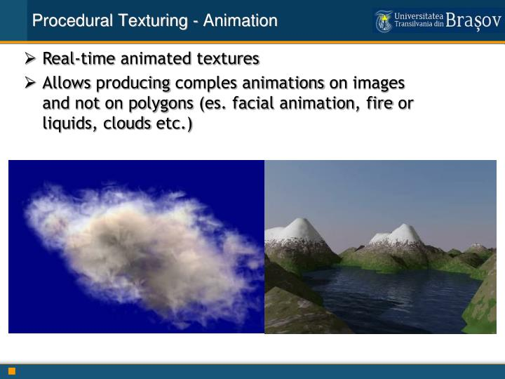 Procedural Texturing - Animation