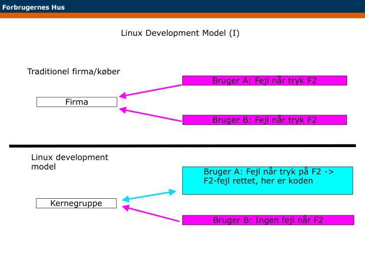 Linux Development Model (I)