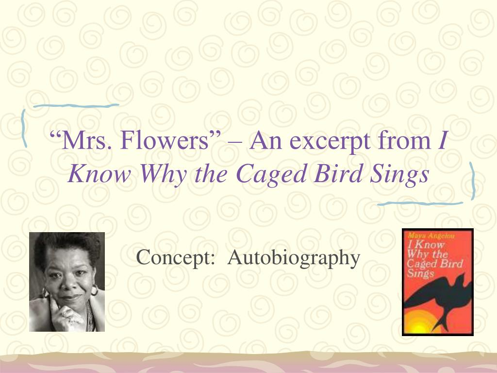 autobiography of a caged bird