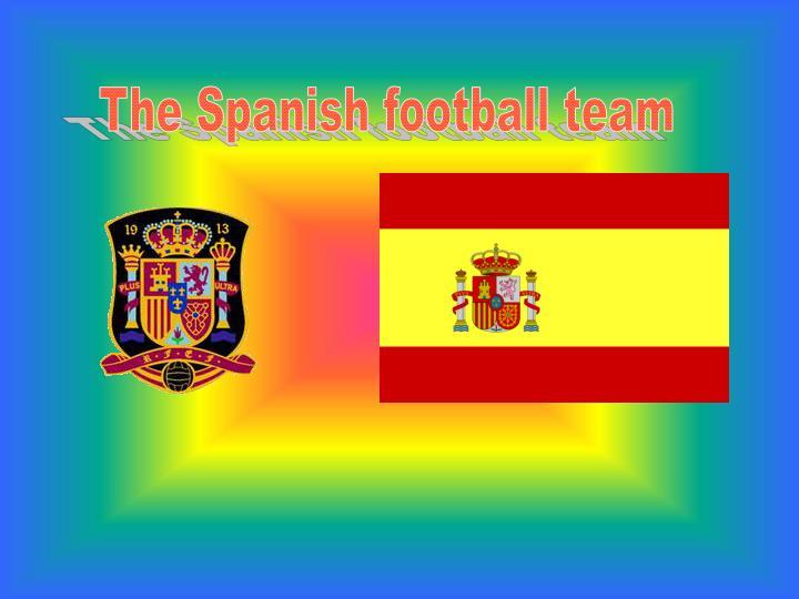 The Spanish football team