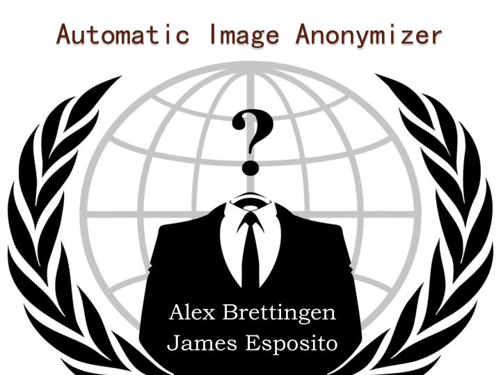 automatic image anonymizer n.