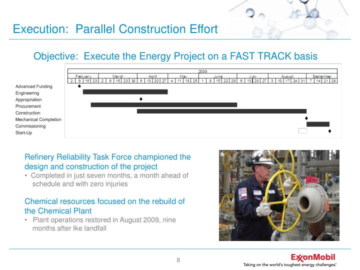 Execution:  Parallel Construction Effort