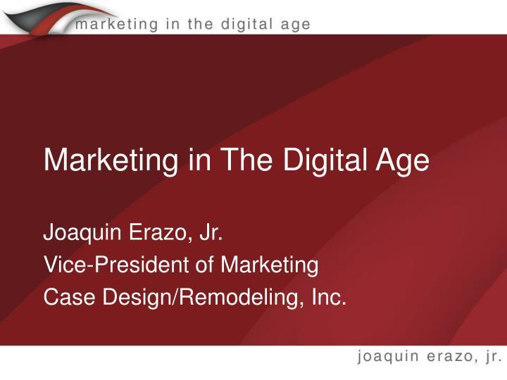 marketing in the digital age n.