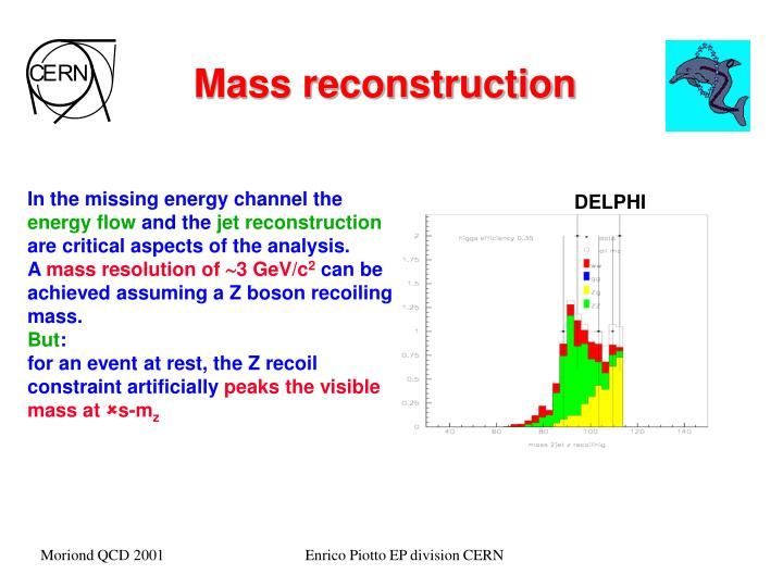 Mass reconstruction